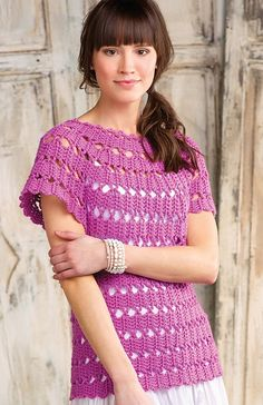 Bruges Lace Tunic, de Ellen Gormley. http://www.ravelry.com/patterns/library/bruges-lace-tunic