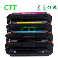 Big sale US $130.99  Compatible for 410A CF410A CF411A CF412A CF413A(1 Set 4 color) Toner Cartridge for HP Color LaserJet Pro M452dn/M477fdw/M477fnw  #Compatible #color #Toner #Cartridge #Color #LaserJet #MdnMfdwMfnw  #CyberMonday