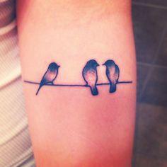 three little birds... #tattoo