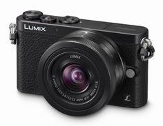 Panasonic LUMIX DMC-GM1K with 12-32mm BLACK Lens Kit