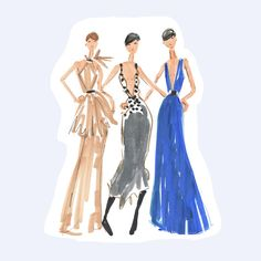 Loving classic @dvf evening looks from the #nyfw2017 runway!  https://www.ets...