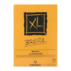 Canson XL Bristol Pad 50 Sheets Very smooth detailed drawing paper pad. Canson XL Bristol paper, with its satin finish, is ultra-white and extremely smooth. Bristol, Paper Manufacturers, Ms Gs, A3, 50th, Santa Barbara, Canvas, Drawing Stuff, Tela