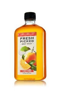 Bath & Body Works® Body Wash Fresh Picked Tangerines by Bath & Body Works. $16.99. Indulge in the mouth-watering scent of sweet tangerines picked fresh from the tree. Inspired by the energy and crisp scents of your local farmers market, the sweet aroma of tangerine creates a lavish lather while moisturizing Aloe Vera and nourishing Vitamin E gently clean and soften skin. Lightly scented with fresh picked tangerines Also available in new body lotion!. Indulge i...