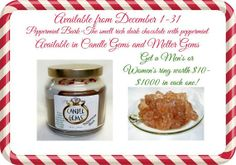 Peppermint Bark Soy Wax Candle by SoyLScents on Etsy, $22.99