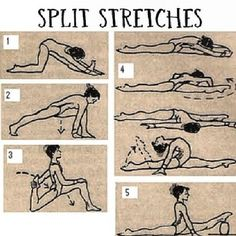 exersises for those splits