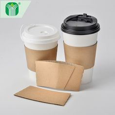 Check out this product on Alibaba.com APP custom logo print kraft paper coffee cup sleeve