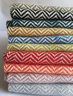 Hand Woven Textiles from Bristol Looms Make Great Gifts