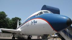 Bucket list!!  This photo taken on Tuesday, July 1, 2014, shows the Lisa Marie, one of two jets once owned by late singer Elvis Presley, that is used as a tourist exhibit at the Graceland tourist attraction in Memphis, Tenn. The company that operates the Graceland tourist attraction has told the current owners of the Lisa Marie, and another plane called the Hound Dog II, that it wants the planes removed from Graceland by late April 2015, or shortly afterward. (AP Photo/Adrian Sainz)