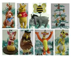 Disney Winnie the Pooh Set of 8 Holiday Christmas Tree Ornaments Featuring 100 Acre Woods Pooh Bear Bumble Bee, Wise Old Owl, Piglet, Kanga, Tigger, Pooh Bear, Eeyore, and Rabbit - Unique Shatterproof Design - Great for Kids Winnie the Pooh,http://www.amazon.com/dp/B0067WTCBS/ref=cm_sw_r_pi_dp_GYpltb0H8WZN74MD