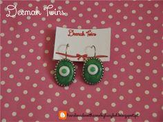 Green Jade Earrings
