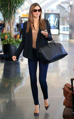 Flawless traveling style - Miranda Kerr