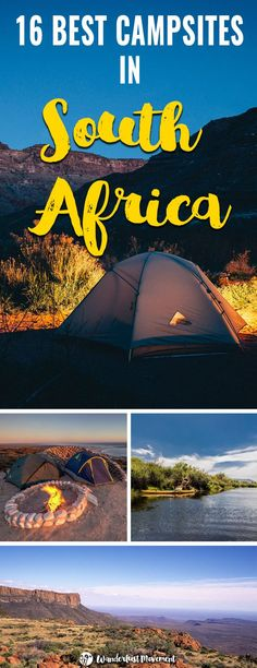 Addicted to the outdoors? Here are some of the best campsites in South Africa to visit on your next holiday or weekend a. - Addicted to the outdoors? Here are some of the best campsites in South Africa to visit on your next holiday or weekend away. Africa Destinations, Travel Destinations, Next Holiday, Weekends Away, South America Travel, Roadtrip, Africa Travel, Campsite, Travel Around The World