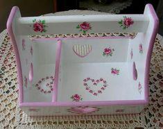 MERALHOBİART: ÇOK AMAÇLI.... Decoupage, Decorative Boxes, Painting, Ideas, Home Decor, Carton Box, Painted Wooden Boxes, Decorated Boxes, Organizers
