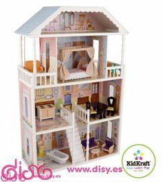 #casasdemuñecasdisy #casasdemuñecas #casitasdemuñecas Casas de muñecas Savannah - en disy puedes comprar esta casita a precio 159€