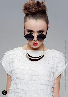Portland Fashion Week Spring '14 Designer: Art Institute Student Designer Hair and Makeup: Dosha Creative Team
