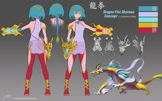 Dragon Fist Shyvana ~Costume Concept + by ptcrow on DeviantArt