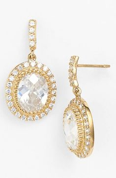 Freida Rothman 'Madison Avenue' Drop Earrings available at #Nordstrom