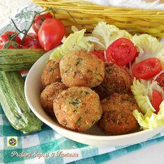 Polpette con melanzane e zucchine senza carne  Blog Profumi Sapori & Fantasia