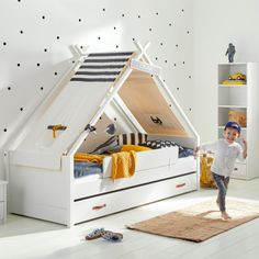 Cool Kids Superhero Tipibed Wit 90 x 200 cm Baby Bedroom, Dream Bedroom, Kids Bedroom, Bed Tent, Boys Room Decor, Kid Beds, Room Inspiration, Cool Kids, Decoration