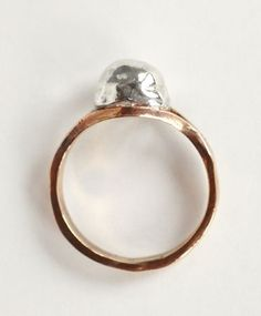 // Open House Silver Orb Ring