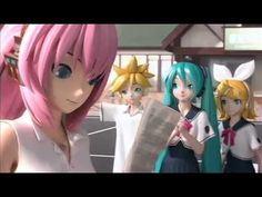 "Hatsune Miku Project DIVA extend ""Bonus Movie 2"" OP demo (Japanese)"