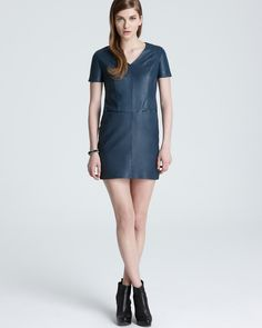 Cut25 Leather Dress
