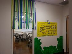 Our scissors and stuff emporium. Colossal coaster world vbs 2013