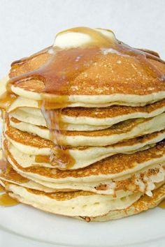 Copycat IHOP Buttermilk Pancakes Breakfast Recipe with flour, sugar, baking powd. - Copycat IHOP Buttermilk Pancakes Breakfast Recipe with flour, sugar, baking powd… – Copycat IH - Ihop Pancake Recipe Copycat, I Hop Pancake Recipe, Breakfast Pancakes, Pancakes And Waffles, Copycat Recipes, Pancake Recipe With Baking Soda, Pancake Recipes, Pumpkin Pancakes, Recipes