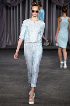 Christian Siriano Spring 2013 RTW  - everyone needs some pastel sparkle at the office