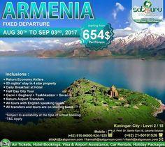 , 84 : Halo Indonesia, dapatkan kesempatan menarik untuk bisa berlibur berpetualang ke Armenia bersama kami dengan penawaran istimewa dan paket yang terbaik sesuai pilihan anda. Pesan sekarang juga! -------------------------- Dapatkan juga diskon / voucher dan promo khusus di bulan ini. -------------------------- Hubungi kami atau kunjungi: Kuningan City - Level 2 / 18  Jl. Prof. Dr. Satrio Kav.18 Jakarta.  Check our bio for details.  IG: @satgurutravel.id  FB: fb.com/satgurutravelsid ☎…