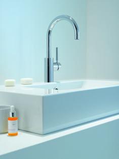 Save on this Dornbracht Tara Logic basin tap in polished chrome finish! Shower Fittings, Bathroom Taps, Basin Taps, Shower Set, Chrome Finish, Polished Chrome, Building A House, Sink