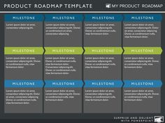 Timeline Template  My Product Roadmap  Business Model