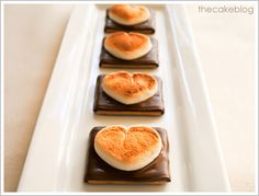 """""""I Love you S'Mores!""""  Not so healthy . . . but they are so very cute.  Just ONE for a special treat is okay, right?"""