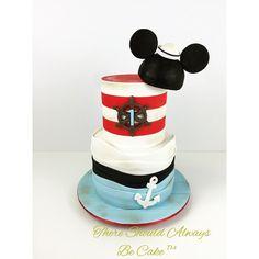 Mickey Sailor Birthday Cake