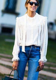 look fancy top calça jeans