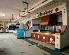 [OC] Food court at the now-demolished Summit Place Mall in Waterford Michigan. Shuttered in City Buildings, Modern Buildings, Banner Images, Food Court, Urban Design, High Quality Images, Shutters, Trip Planning, Abandoned