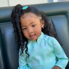Bai (bae)✨ (@bbybailei) • Instagram photos and videos Black Baby Girls, Cute Black Babies, Adorable Babies, Baby Girl Hairstyles, Black Girls Hairstyles, Toddler Hairstyles, Mix Baby Girl, Cute Baby Girl, Blasian Babies