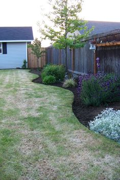 Image result for use gravel boards as border edging