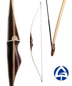 Modern archery longbow Mark Silver