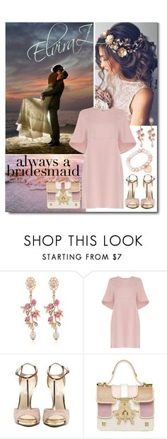 """""""always a bridesmaid"""" by elza76 ❤ liked on Polyvore featuring WithChic, Valentino and Giancarlo Petriglia"""
