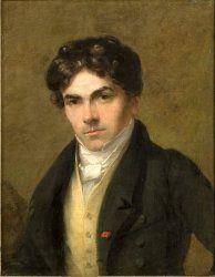 Portrait d'Eugène Delacroix - Thales Fielding