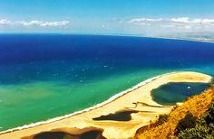Lagoon of Tindari, Sicily, Italy.