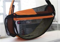Fundle Dog Cat Sling Carrier Shoulder Tote Bag See Through Series FD P2030 | eBay
