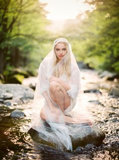 Riverswept Fine Art Boudoir in the Smoky Mountains | Captured by JoPhoto