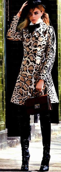 Cara Delevingne for Vogue US July 2014