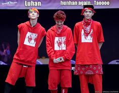 Hunhan is not kris' style