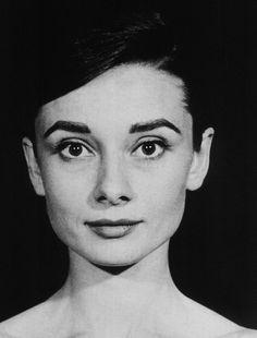 Audrey Hepburn circa 1958.