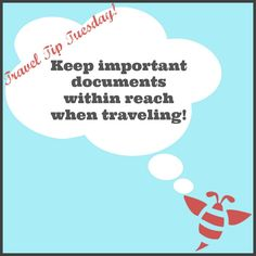 Before you travel, make copies of your travel itinerary, IDs and passport. Be sure to leave a copy with someone you trust, preferably your Travel Advisor. Also, place a copy in your carry-on and another in your checked luggage. Should you lose your passport, this will aid in you obtaining a new one from your embassy. #TravelTipTuesday #LuxuryTravel #Getaways #BeRelaxedDestination