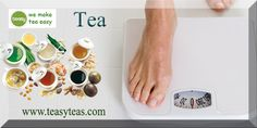 Tea can help people lose weight since it enhances the metabolism of the body. When a person has a fast metabolism, fats are burned faster thus resulting in weight loss. http://www.teasyteas.com/