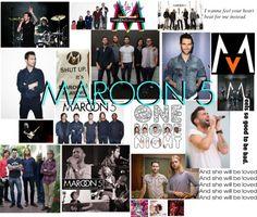 """Maroon 5"" by hellomynameis143 ❤ liked on Polyvore"